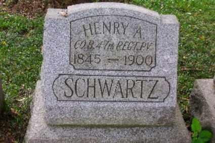 SCHWARTZ, HENRY A. - Lehigh County, Pennsylvania   HENRY A. SCHWARTZ - Pennsylvania Gravestone Photos