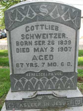 SCHWEITZER, GOTTLIEB - Lehigh County, Pennsylvania | GOTTLIEB SCHWEITZER - Pennsylvania Gravestone Photos