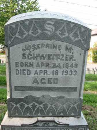 SCHWEITZER, JOSEPHINE M. - Lehigh County, Pennsylvania   JOSEPHINE M. SCHWEITZER - Pennsylvania Gravestone Photos