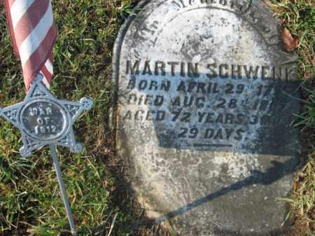 SCHWENK, MARTIN - Lehigh County, Pennsylvania   MARTIN SCHWENK - Pennsylvania Gravestone Photos