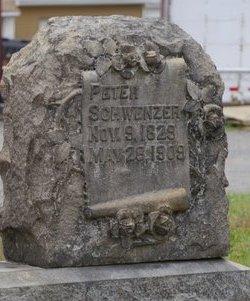 SCHWENZER (CW), PETER - Lehigh County, Pennsylvania | PETER SCHWENZER (CW) - Pennsylvania Gravestone Photos