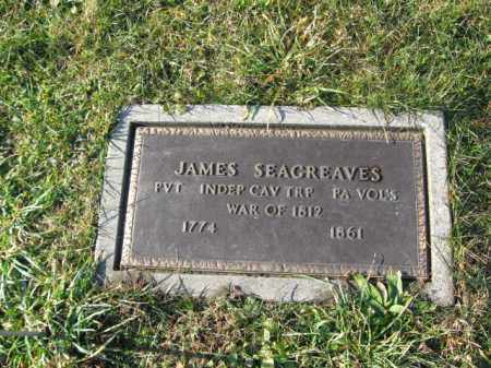 SEAGRAVES, PVT.JAMES - Lehigh County, Pennsylvania | PVT.JAMES SEAGRAVES - Pennsylvania Gravestone Photos