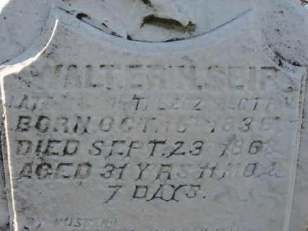 SEIP, MAJOR WALTER H. - Lehigh County, Pennsylvania   MAJOR WALTER H. SEIP - Pennsylvania Gravestone Photos