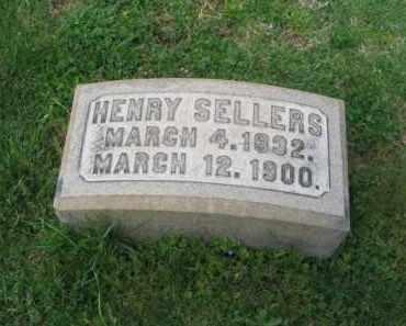 SELLERS, HENRY - Lehigh County, Pennsylvania | HENRY SELLERS - Pennsylvania Gravestone Photos