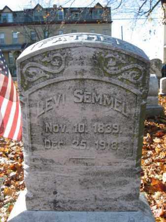 SEMMEL, LEVI - Lehigh County, Pennsylvania | LEVI SEMMEL - Pennsylvania Gravestone Photos