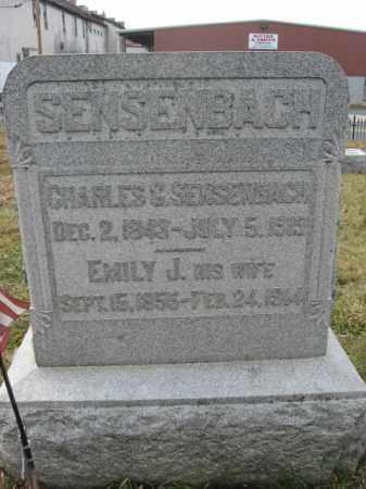 SENSENBACH, PVT.CHARLES G. - Lehigh County, Pennsylvania | PVT.CHARLES G. SENSENBACH - Pennsylvania Gravestone Photos