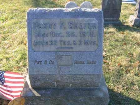 SHAFER, RUSBY P. - Lehigh County, Pennsylvania   RUSBY P. SHAFER - Pennsylvania Gravestone Photos