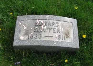 SHAFFER, EDWARD - Lehigh County, Pennsylvania | EDWARD SHAFFER - Pennsylvania Gravestone Photos