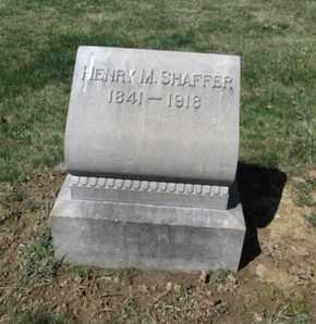 SHAFFER, HENRY M. - Lehigh County, Pennsylvania | HENRY M. SHAFFER - Pennsylvania Gravestone Photos