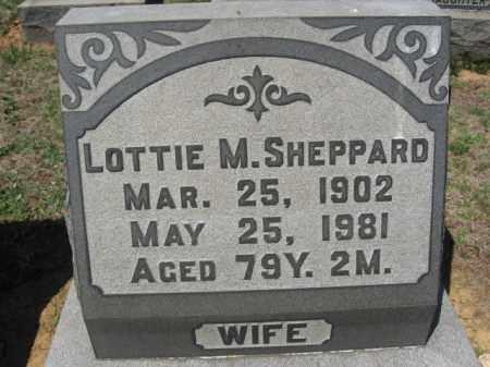 SHEPPARD, LOTTIE M. - Lehigh County, Pennsylvania | LOTTIE M. SHEPPARD - Pennsylvania Gravestone Photos