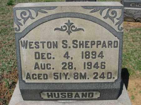 SHEPPARD, WESTON S. - Lehigh County, Pennsylvania | WESTON S. SHEPPARD - Pennsylvania Gravestone Photos