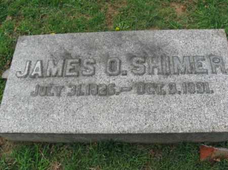 SHIMER, JAMES O. - Lehigh County, Pennsylvania | JAMES O. SHIMER - Pennsylvania Gravestone Photos