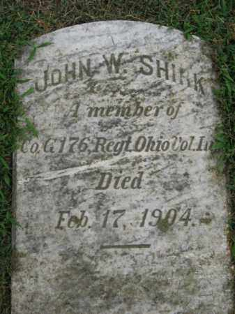 SHIRK (CW), PVT. JOHN W. - Lehigh County, Pennsylvania | PVT. JOHN W. SHIRK (CW) - Pennsylvania Gravestone Photos