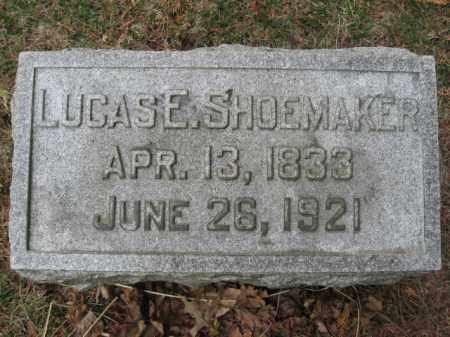 SHOEMAKER, LUCAS E. - Lehigh County, Pennsylvania | LUCAS E. SHOEMAKER - Pennsylvania Gravestone Photos