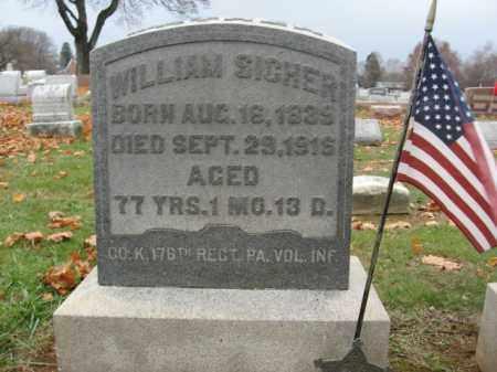 SICHER (CW), WILLIAM - Lehigh County, Pennsylvania | WILLIAM SICHER (CW) - Pennsylvania Gravestone Photos
