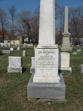 SIGMUND (CW), ALBERT M. - Lehigh County, Pennsylvania | ALBERT M. SIGMUND (CW) - Pennsylvania Gravestone Photos