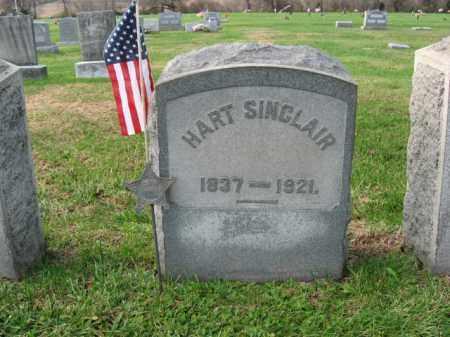 SINCLAIR, SERGT. HART - Lehigh County, Pennsylvania | SERGT. HART SINCLAIR - Pennsylvania Gravestone Photos