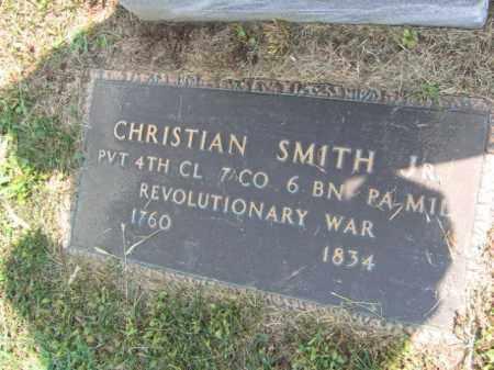 SMITH, CHRISTIAN - Lehigh County, Pennsylvania   CHRISTIAN SMITH - Pennsylvania Gravestone Photos
