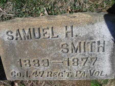 SMITH (CW), SAMUEL H. - Lehigh County, Pennsylvania | SAMUEL H. SMITH (CW) - Pennsylvania Gravestone Photos