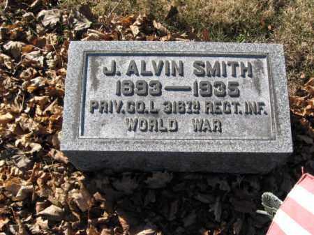 SMITH, J. ALVIN - Lehigh County, Pennsylvania | J. ALVIN SMITH - Pennsylvania Gravestone Photos