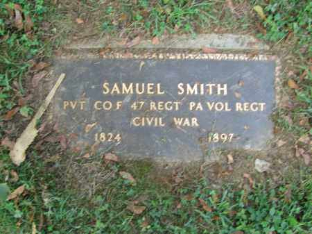 SMITH, PVT. SAMUEL - Lehigh County, Pennsylvania | PVT. SAMUEL SMITH - Pennsylvania Gravestone Photos