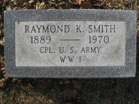 SMITH, RAYMOND K. - Lehigh County, Pennsylvania | RAYMOND K. SMITH - Pennsylvania Gravestone Photos
