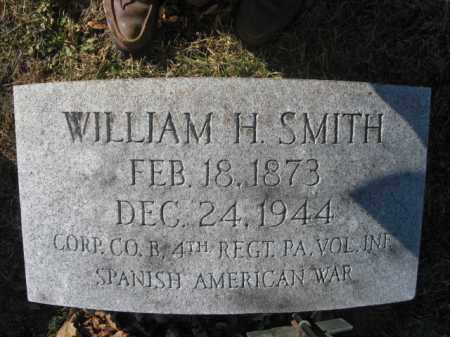 SMITH, WILLIAM H. - Lehigh County, Pennsylvania | WILLIAM H. SMITH - Pennsylvania Gravestone Photos