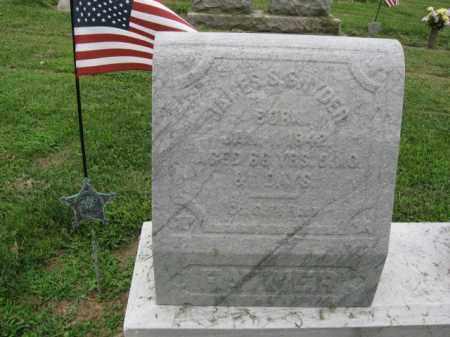 SNYDER (CW), JAMES S. - Lehigh County, Pennsylvania | JAMES S. SNYDER (CW) - Pennsylvania Gravestone Photos
