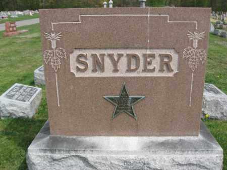 SNYDER (WW I), THOMAS C. - Lehigh County, Pennsylvania | THOMAS C. SNYDER (WW I) - Pennsylvania Gravestone Photos