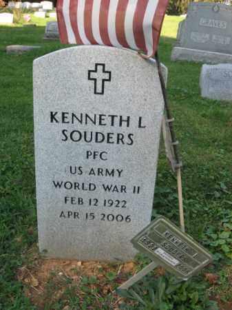 SOUDERS, KENNETH L. - Lehigh County, Pennsylvania | KENNETH L. SOUDERS - Pennsylvania Gravestone Photos