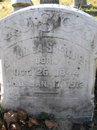 SPEICHER, SYBILLA - Lehigh County, Pennsylvania | SYBILLA SPEICHER - Pennsylvania Gravestone Photos