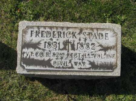 STADE, FREDERICK - Lehigh County, Pennsylvania | FREDERICK STADE - Pennsylvania Gravestone Photos