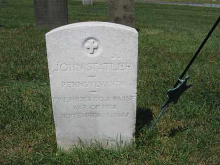 STATER, JOHN - Lehigh County, Pennsylvania | JOHN STATER - Pennsylvania Gravestone Photos