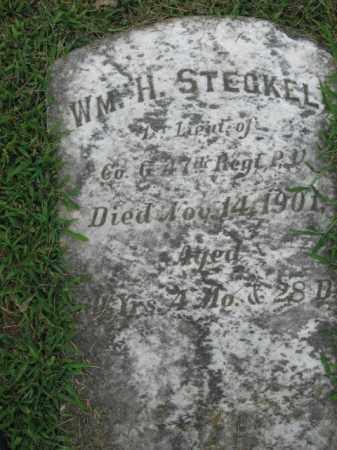 STECKEL, LT. WILLIAM H. - Lehigh County, Pennsylvania | LT. WILLIAM H. STECKEL - Pennsylvania Gravestone Photos
