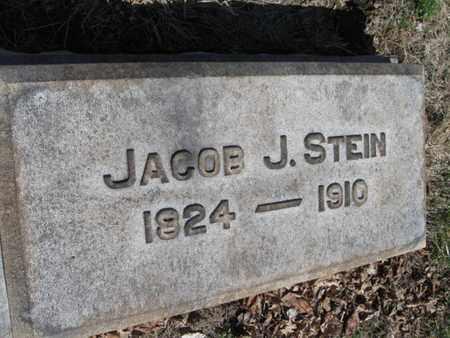 STEIN, JACOB J. - Lehigh County, Pennsylvania   JACOB J. STEIN - Pennsylvania Gravestone Photos