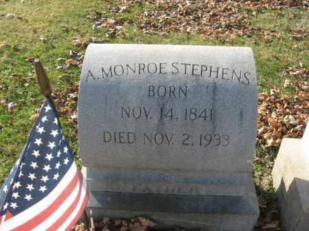 STEPHENS, PVT.A. MONROE - Lehigh County, Pennsylvania | PVT.A. MONROE STEPHENS - Pennsylvania Gravestone Photos