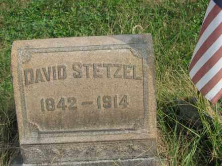 STETZEL (CW), DAVID - Lehigh County, Pennsylvania | DAVID STETZEL (CW) - Pennsylvania Gravestone Photos