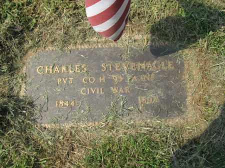 STEVENAGLE, PVT. CHARLES - Lehigh County, Pennsylvania | PVT. CHARLES STEVENAGLE - Pennsylvania Gravestone Photos