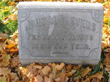 STEVENS, JOHN M. - Lehigh County, Pennsylvania | JOHN M. STEVENS - Pennsylvania Gravestone Photos