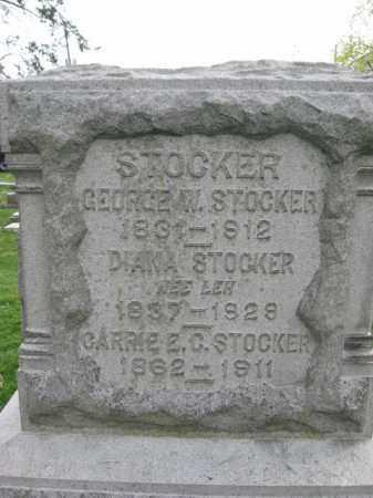 STOCKER (CW), GEORGE W. - Lehigh County, Pennsylvania | GEORGE W. STOCKER (CW) - Pennsylvania Gravestone Photos