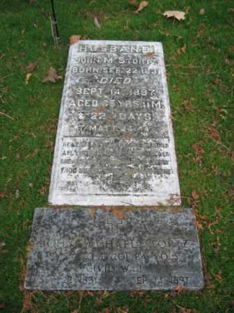 STORTZ, PVT. JOHN MICHAEL - Lehigh County, Pennsylvania   PVT. JOHN MICHAEL STORTZ - Pennsylvania Gravestone Photos
