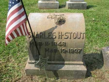 STOUT, CHARLES H. - Lehigh County, Pennsylvania | CHARLES H. STOUT - Pennsylvania Gravestone Photos