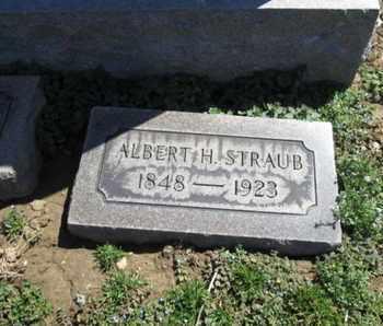 STRAUB, ALBERT H. - Lehigh County, Pennsylvania | ALBERT H. STRAUB - Pennsylvania Gravestone Photos