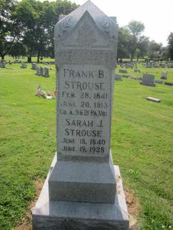 STROUSE (CW), FRANK B. - Lehigh County, Pennsylvania   FRANK B. STROUSE (CW) - Pennsylvania Gravestone Photos