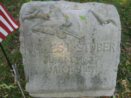 STUBER, JAMES B. - Lehigh County, Pennsylvania | JAMES B. STUBER - Pennsylvania Gravestone Photos