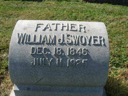 SWOYER, WILLIAM J. - Lehigh County, Pennsylvania | WILLIAM J. SWOYER - Pennsylvania Gravestone Photos