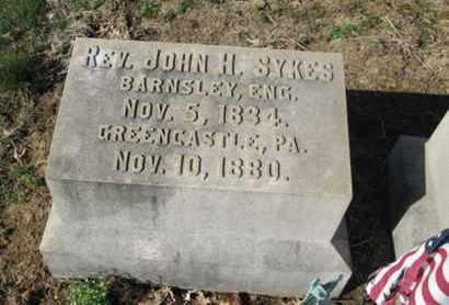 SYKES (CW), JOHN H. - Lehigh County, Pennsylvania | JOHN H. SYKES (CW) - Pennsylvania Gravestone Photos
