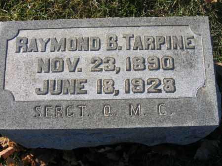 TARPINE, RAYMOND B. - Lehigh County, Pennsylvania | RAYMOND B. TARPINE - Pennsylvania Gravestone Photos