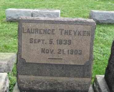 THEYKEN, LAURENCE - Lehigh County, Pennsylvania   LAURENCE THEYKEN - Pennsylvania Gravestone Photos