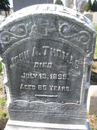 THOMAS (CW), JOHN A. - Lehigh County, Pennsylvania | JOHN A. THOMAS (CW) - Pennsylvania Gravestone Photos